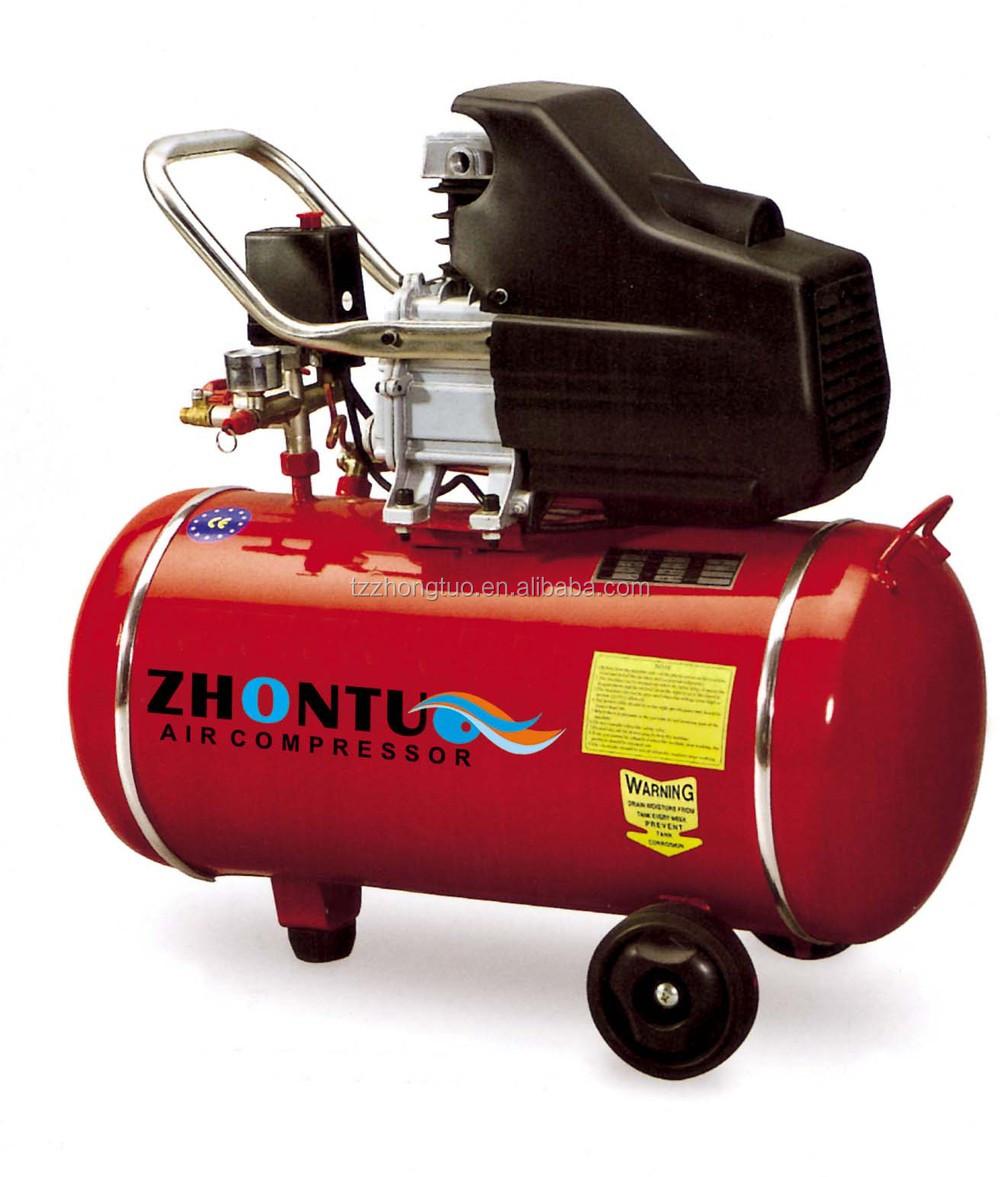 Compresor de aire port til 3hp 50l impulsado directa tipo - Compresor de aire portatil ...