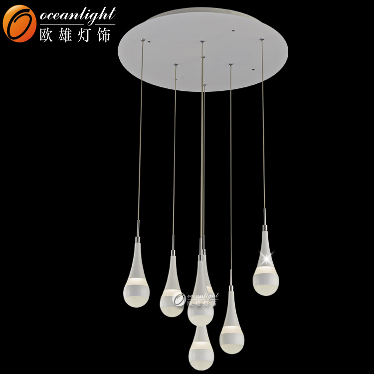 Acrylic chandelier parts guangdong chandeliers crystal chandelier for restaurants OM88422-7