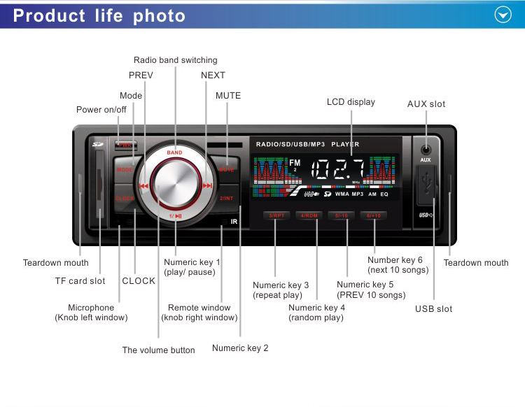 automobile engine car audio system china