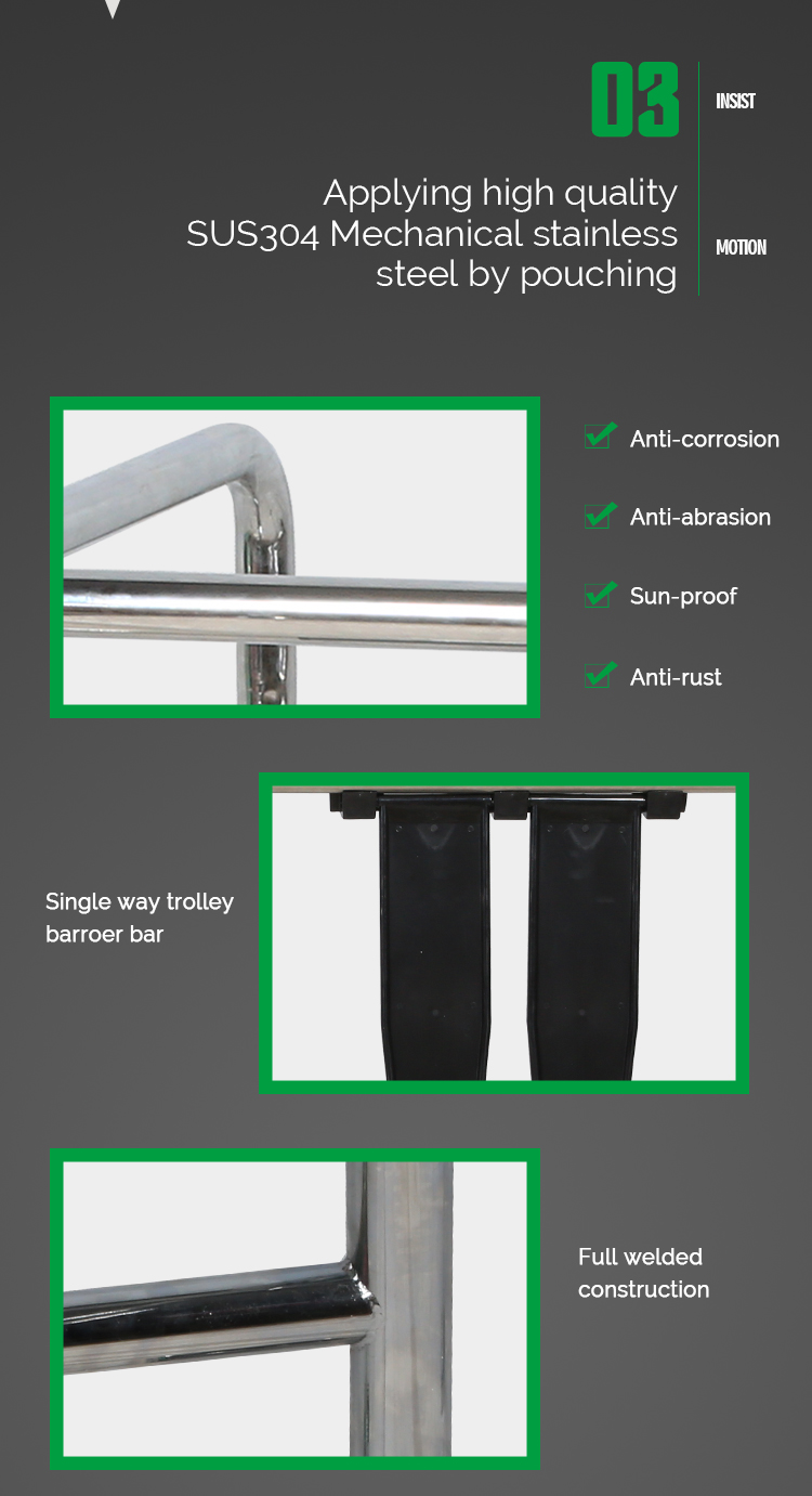 Stainless Steel Turnstile Access Control System
