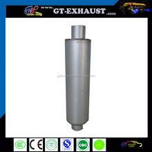 Diesel exhaust muffler for truck
