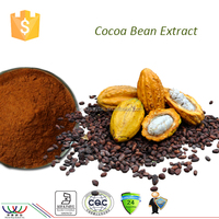 Lower blood lipid health food free sample HACCP KOSHER FDA cGMP certified 40% polyphenols cocoa extract powder