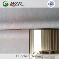 best 100% polyester linen like blackout curtain dyed fabric