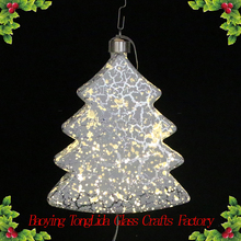 Crack glass artificial led christmas tree wholesale