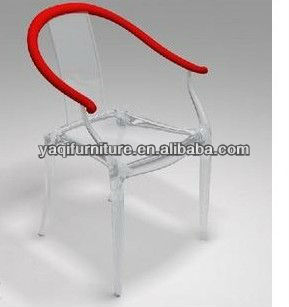 Clear Acrylic Leisure Arm Chair