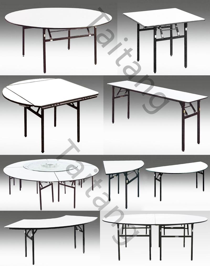 직사각형 테이블 웨딩 이벤트 광고 연회 테이블