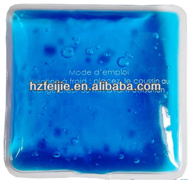 Hot gel pack reusable hand warmer