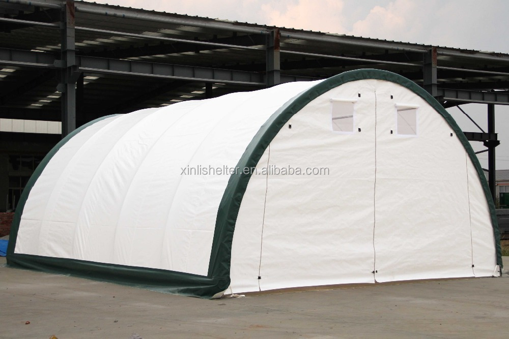 Boat Shelter Architectural Detail : R pvc fabric steel frame boat storage shed shelter