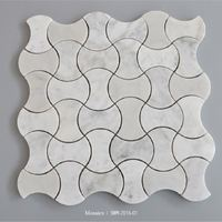 Natural stone own factory oriental white marble flooring tile