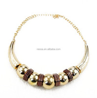 Fashion necklace nepal gold jewellery wholesale C23-369