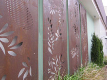 outside laser cut metal wall decor