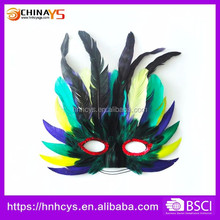 Event Products Artificial Indian style carnival eye masks for women