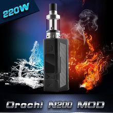 Big Original orochi Box Mod 220W 510 thread electronic cigarette vape Battery