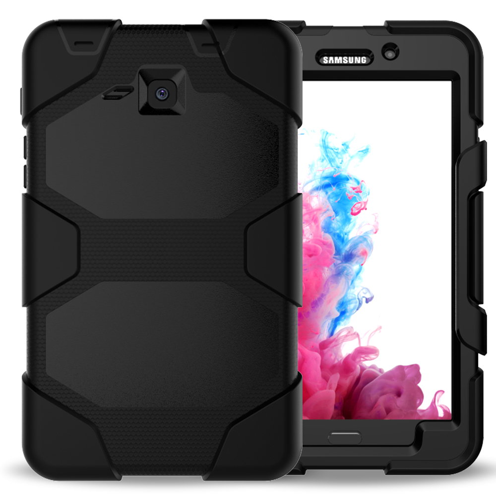 Shockproof Tablet Case Silicone Rubber Tablet Case Silicone + PC Case for GALAXY Tab e 9.7inch t560
