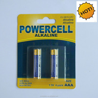 1.5v Non Rechargeable alkaline battery r6 aa battery 1.5v lr6
