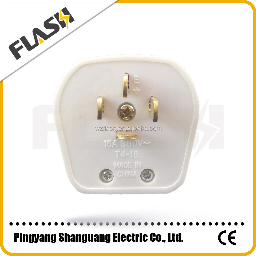 China supplier safety hot sale electrical plug brass pin