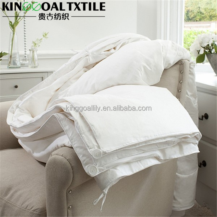 High Quality Raw Mulberry Silk Duvet Bedding Set Queen size