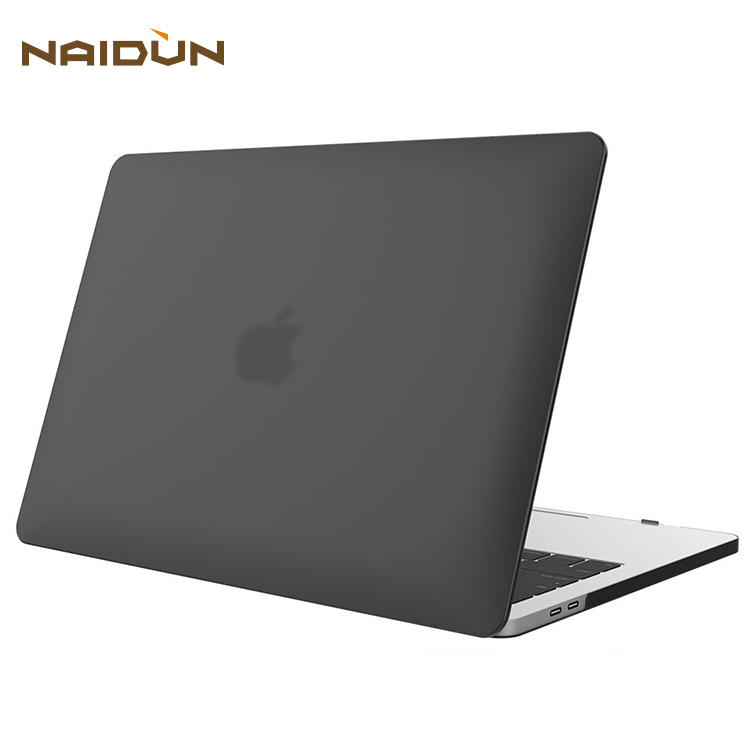 Smooth Matte Black Case For MacBook Pro 13 Case 2018 2017 2016 Hard Case Shell Cover For Apple MacBook Pro 13 Inch