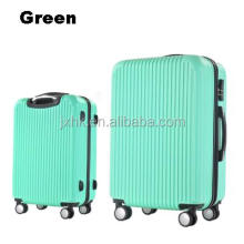 2017 hot sales abs plastic cheap trolley travel luggage bags