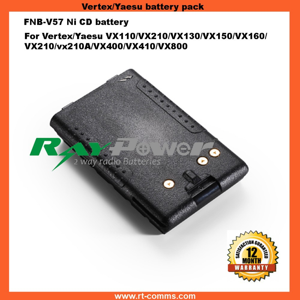 2 way radio battery packs FNB-V57 for VX110/120/150/160/180/200/210/400/800