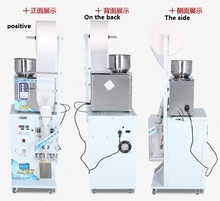 Pouch Sealing Tube Bottle System Oil Dry Powder Filling Machine