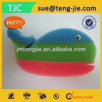 Hot Sale Animal Shape Kids Bath Sponge