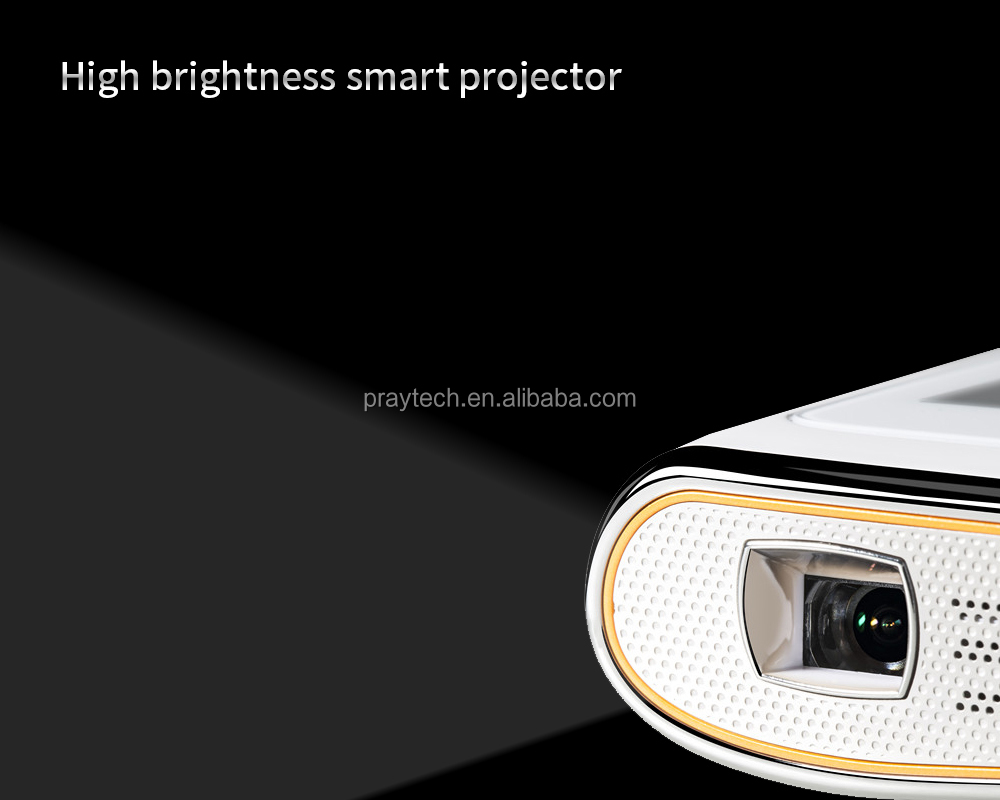 Android 4.4 Pico Projector Led 100Lumens, Dual Core, Miracast, DLNA YouTube, Google play