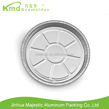 Newest product aluminium foil food plate