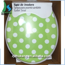 Brand new porcelain toilet seat custom printed duvet cover with high quality
