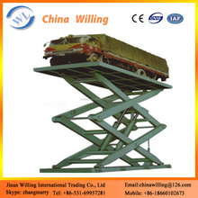 Hydraulic car lift price scissor car lift\/car lifting ramp