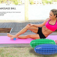 Therapeutic Olive Trigger Spiky Massage Ball