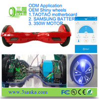 OEM ODM VETERAN FACTORY! with application taotao high quality 6.5 inch e balance scooter