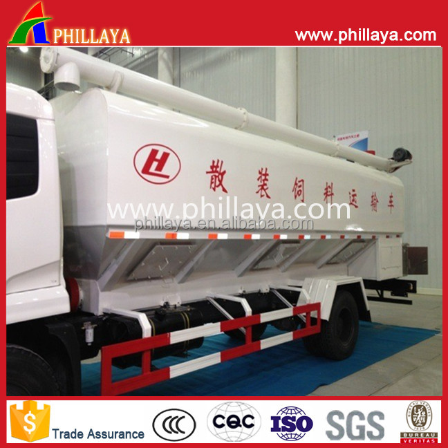 30-70m3 silo tank cement powder bulk material trailer with air compressor pump lifting