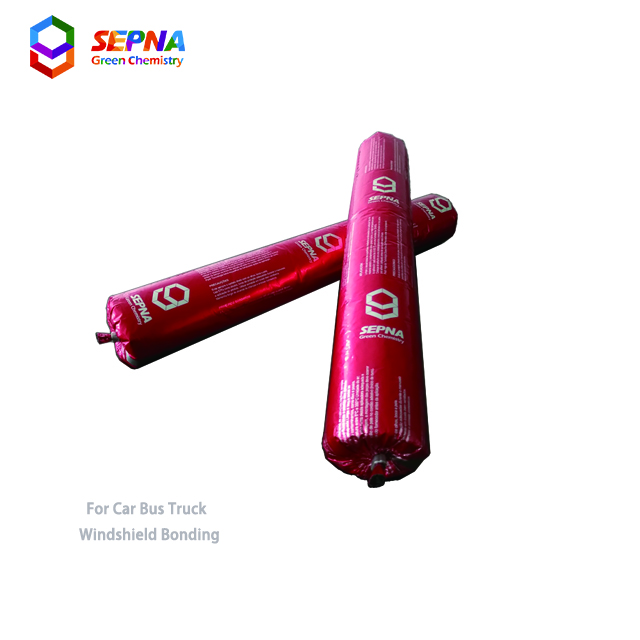 structural High tensile 6MPa primer less polyurethane adhesive for windshield/windscreen/autoglass