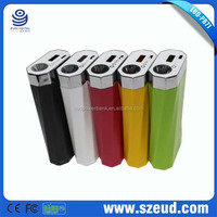 EUD-PB 71 RoHS,CE,FCC 5V/1A 5000mAh/6000mAh mobile phone power backup