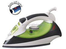 Portable steam iron ,ceramic soleplate 1800W, Auto-shut off, for hotel service