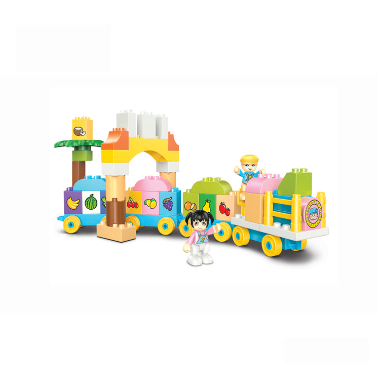 Baby <strong>Toys</strong> Train 68PCS Big Size Educational Story Block <strong>Toys</strong>
