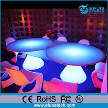 led illuminated flower tables and chairs for party,glowing kids mushroom table and chairs