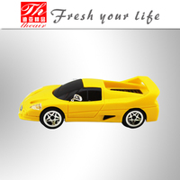 Super racing car shape design Perfumes fragrances custom car gel air freshener