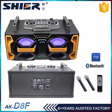 2.0 channels active computer bass bluetooth speaker vibration