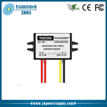 Voltage converter 24v ac to 5v dc step down for led