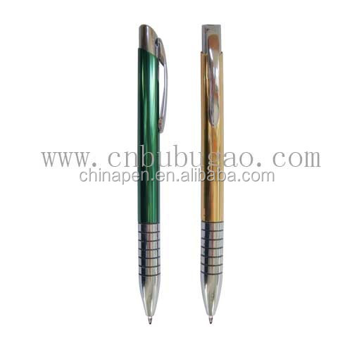 2017 special gift for teacher nice looking promotional metal ballpoint pen