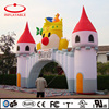 custom made inflatable children's playground castle arch for advertising