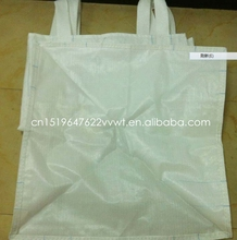 Durable plastic PP woven FIBC big jumbo bag for building material sand cement lime
