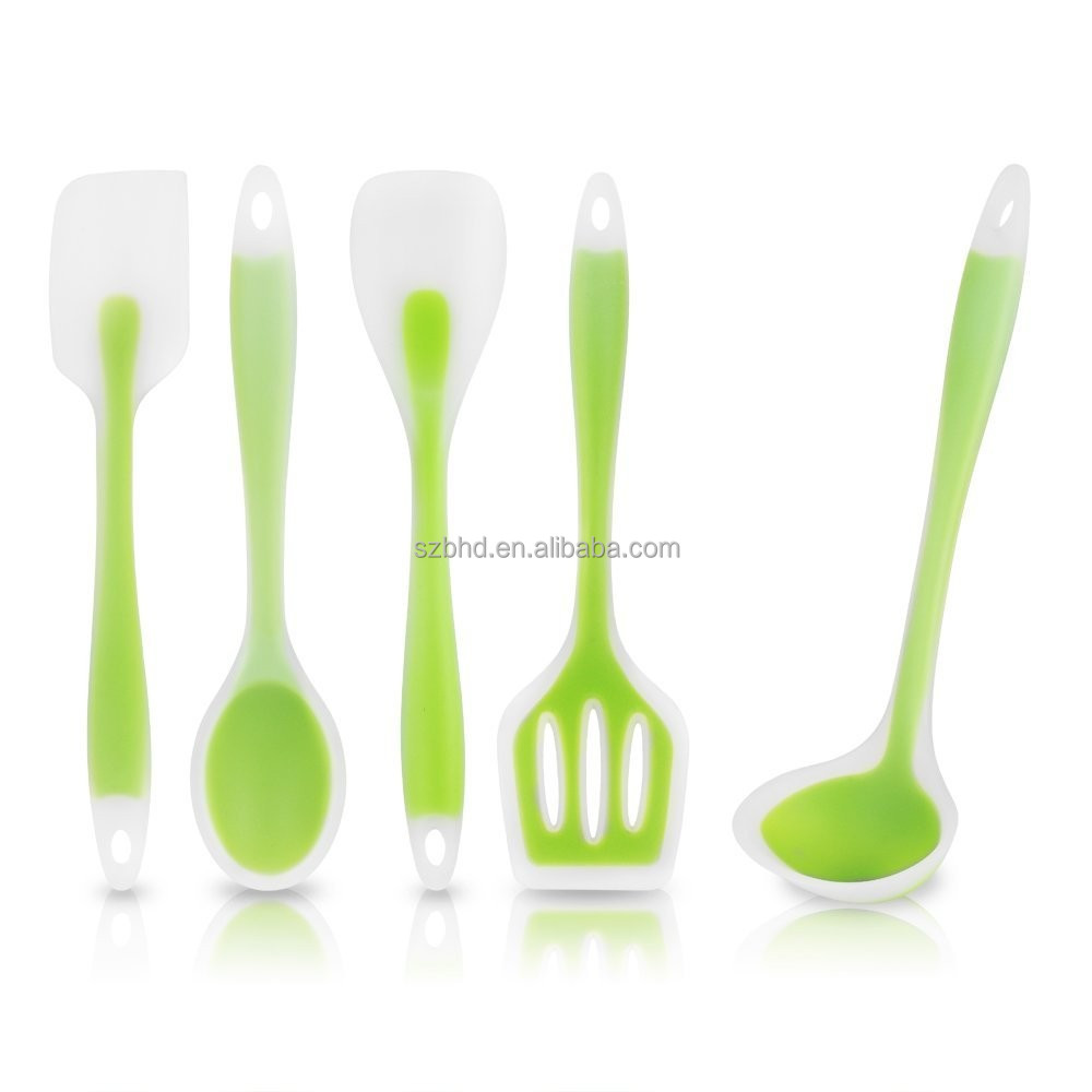 Heat-Resistant Cooking Utensil Set, Non-Stick Silicone kitchen tools for stylish Home Kitchen Gifts