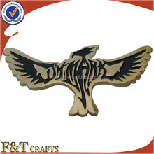 military enamel logo stamping custom metal pilot wings pin badge
