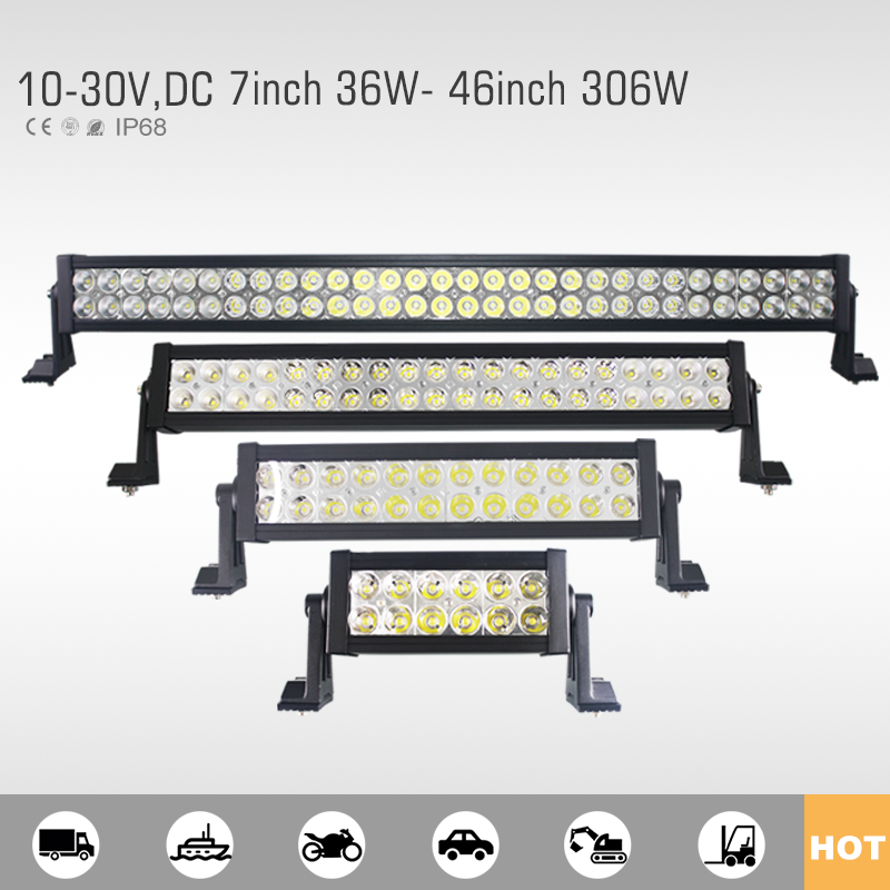 High quality imported led light bar cover