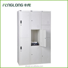 steel metal cabinet 6 door steel clothes stackable lockers for storage clothes steel or iron wardrobe design