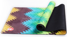 private label sublimation custom digital printed natural rubber zenergy fitness eco yoga mat