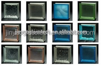small glass block decorative glass block with high quality and best service